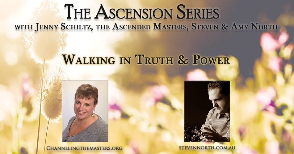 The Ascension Series candid Discussions with Steven North & Jenny Schiltz