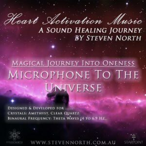 Microphone to the Universe by Steven North