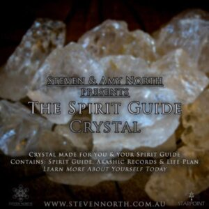 Spirit Guide Crystal by Steven North