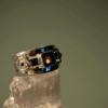 Smoky Quartz - 925 Sterling Silver - Size 6 (L 1/2) Ring 4
