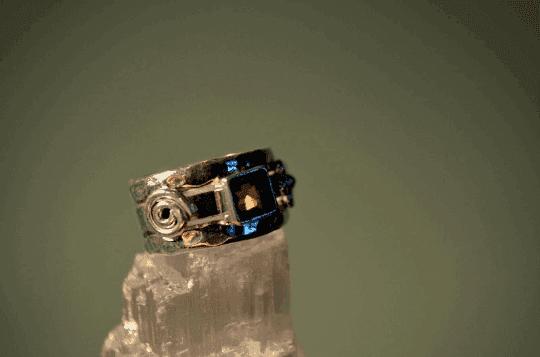 Smoky Quartz - 925 Sterling Silver - Size 6 (L 1/2) Ring 10