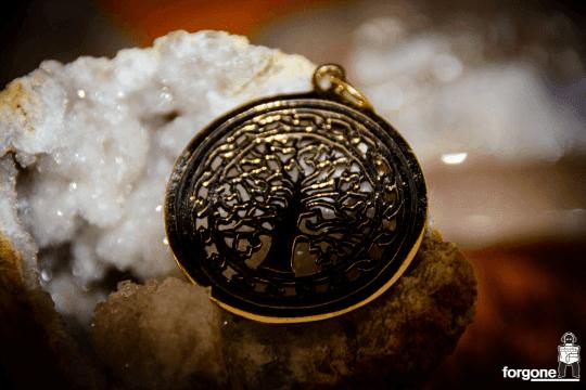 Tree of Life Pendant - Gypsy Gold 5