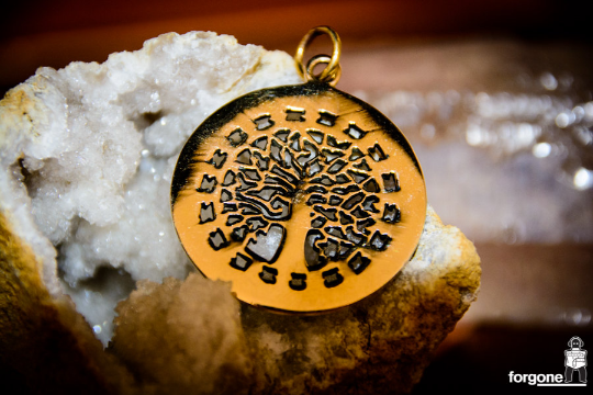 Tree of Life Pendant - Gypsy Gold 4