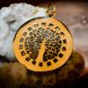 Tree of Life Pendant - Gypsy Gold 3