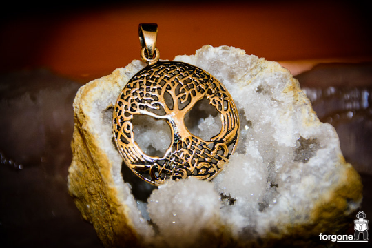 Tree of Life Pendant - Gypsy Gold 1