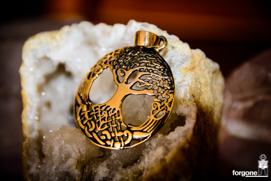 Tree of Life Pendant - Gypsy Gold 9