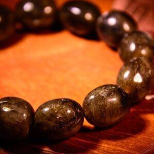 Labradorite Crystal Bracelet (Chipped)