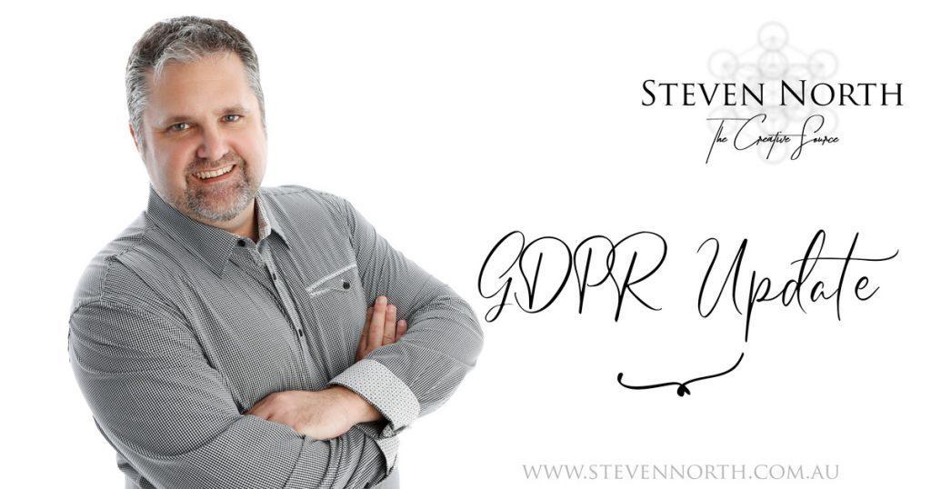 Steven North & the GDPR Update