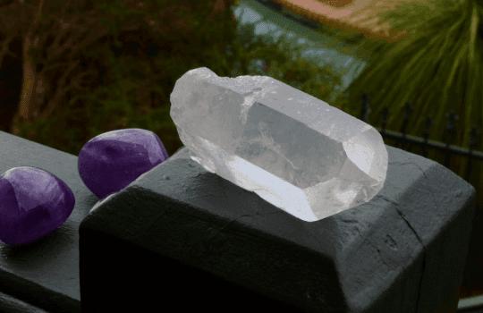 Clear Quartz Crystal Point #12
