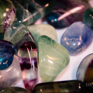 Fluorite Tumbled Crystals - Steven North