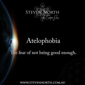 Do you fear Not Being Good Enough?