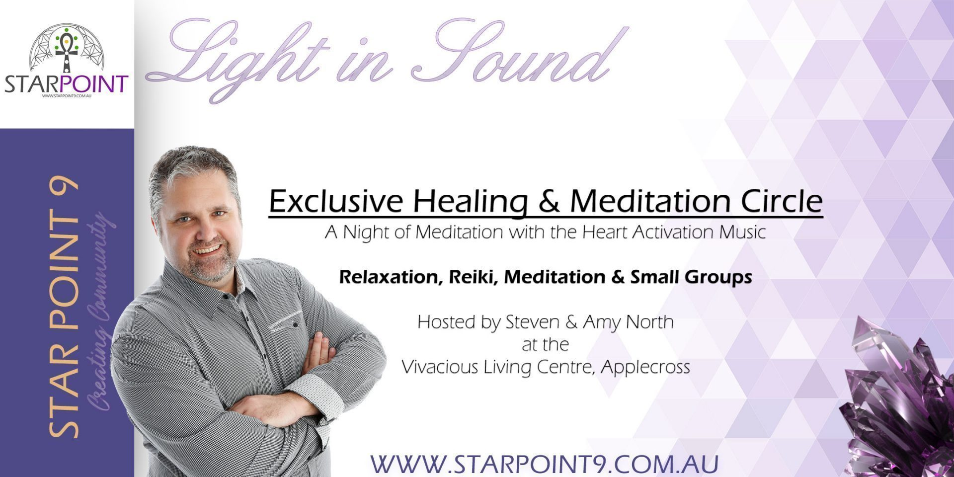 Healing Meditation in Applecross with Steven North