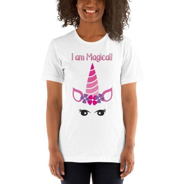 I AM Magical - Unicorn - Short-Sleeve Unisex T-Shirt 1