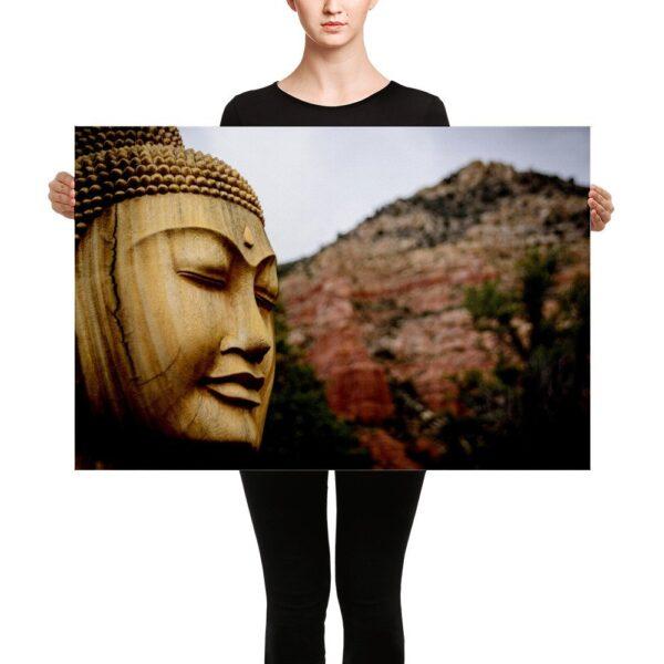 Sedona Buddha Canvas - 24x36 1