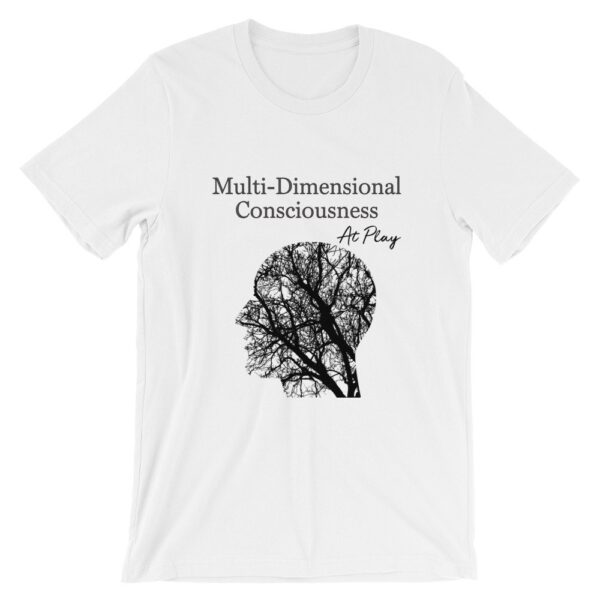 Multi-Dimensional Consciousness At Play - Short-Sleeve Unisex T-Shirt 1