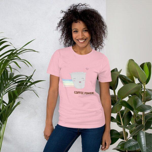 Coffee Power - Short-Sleeve Unisex T-Shirt 1
