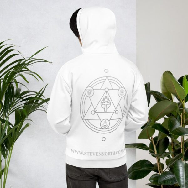 The Steven North Hoodie (White) 12