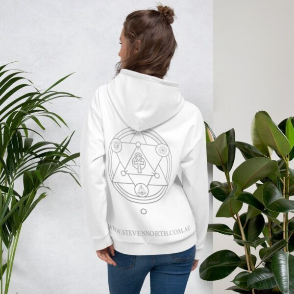 The Steven North Hoodie (White) 10