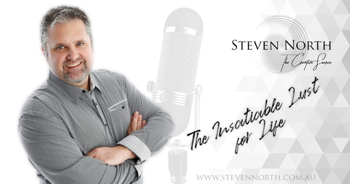 The Insatiable Lust for Life podcast with Steven North