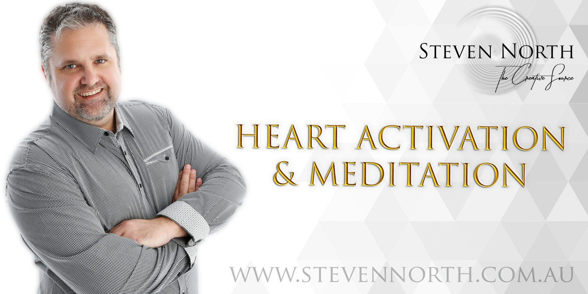 Heart Activation & Meditation Session Online with Steven North